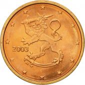 Finlande, 2 Euro Cent, 2003, SPL, Copper Plated Steel, KM:99