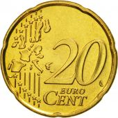 Portugal, 20 Euro Cent, 2004, MS(63), Brass, KM:744