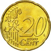 Belgium, 20 Euro Cent, 2004, MS(63), Brass, KM:228