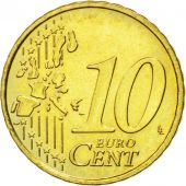 Belgium, 10 Euro Cent, 1999, MS(60-62), Brass, KM:227