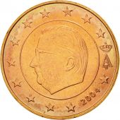 Belgium, 5 Euro Cent, 2004, MS(60-62), Copper Plated Steel, KM:226