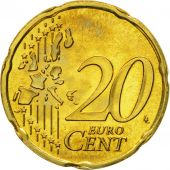 Luxembourg, 20 Euro Cent, 2003, MS(60-62), Brass, KM:79