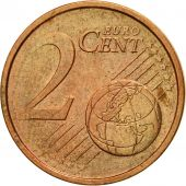 GERMANY - FEDERAL REPUBLIC, 2 Euro Cent, 2002, MS(60-62), Copper Plated Steel