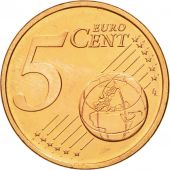 IRELAND REPUBLIC, 5 Euro Cent, 2004, MS(63), Copper Plated Steel, KM:34