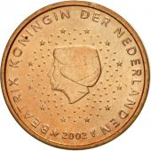 Netherlands, 2 Euro Cent, 2002, MS(63), Copper Plated Steel, KM:235