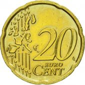 Austria, 20 Euro Cent, 2002, MS(63), Brass, KM:3086