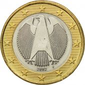 GERMANY - FEDERAL REPUBLIC, Euro, 2002, MS(60-62), Bi-Metallic, KM:213