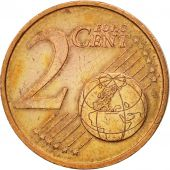 Portugal, 2 Euro Cent, 2002, EF(40-45), Copper Plated Steel, KM:741