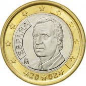 Spain, Euro, 2002, AU(55-58), Bi-Metallic, KM:1046
