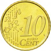 Spain, 10 Euro Cent, 2002, MS(60-62), Brass, KM:1043