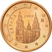 Espagne, 5 Euro Cent, 2002, SUP+, Copper Plated Steel, KM:1042