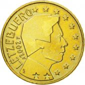 Luxembourg, 50 Euro Cent, 2002, MS(63), Brass, KM:80