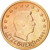 Luxembourg, 2 Euro Cent, 2002, MS(63), Copper Plated Steel, KM:76