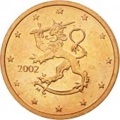 Finlande, 2 Euro Cent, 2002, SUP+, Copper Plated Steel, KM:99