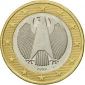 GERMANY - FEDERAL REPUBLIC, Euro, 2002, EF(40-45), Bi-Metallic, KM:213