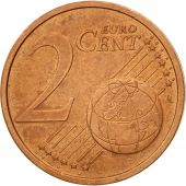 GERMANY - FEDERAL REPUBLIC, 2 Euro Cent, 2002, EF(40-45), Copper Plated Steel
