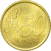 Spain, 50 Euro Cent, 2000, AU(50-53), Brass, KM:1045