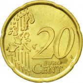 Spain, 20 Euro Cent, 1999, AU(50-53), Brass, KM:1044