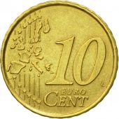 Spain, 10 Euro Cent, 1999, EF(40-45), Brass, KM:1043