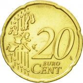 IRELAND REPUBLIC, 20 Euro Cent, 2002, AU(50-53), Brass, KM:36