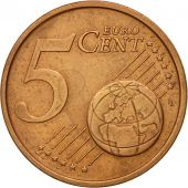 IRELAND REPUBLIC, 5 Euro Cent, 2002, EF(40-45), Copper Plated Steel, KM:34