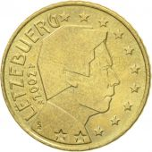 Luxembourg, 50 Euro Cent, 2002, AU(50-53), Brass, KM:80