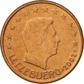 Luxembourg, 5 Euro Cent, 2002, AU(55-58), Copper Plated Steel, KM:77