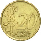 Portugal, 20 Euro Cent, 2002, EF(40-45), Brass, KM:744