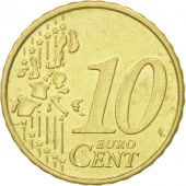 Portugal, 10 Euro Cent, 2002, EF(40-45), Brass, KM:743