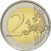 Netherlands, 2 Euro, 2013, MS(63), Bi-Metallic, KM:272