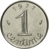 Coin, France, Épi, Centime, 1977, Paris, MS(63), Stainless Steel, KM:928