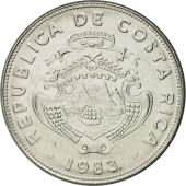 Coin, Costa Rica, 2 Colones, 1983, AU(55-58), Stainless Steel, KM:211.1
