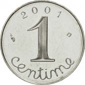 Coin, France, Épi, Centime, 2001, Paris, MS(65-70), Stainless Steel, KM:928