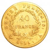 First Empire, 40 Francs or in reverse Empire