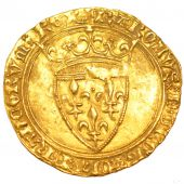Charles VI, Ecu d'or in the crown