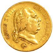 Louis XVIII, 40 Francs or