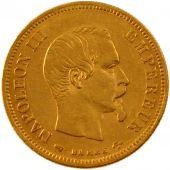 Second French Empire, 10 gold Francs Napol�on III bare head