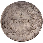 First French Empire, 5 Francs Napoleon Emperor