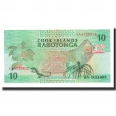 Îles Cook, 10 Dollars, Undated (1992), KM:8a, NEUF