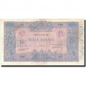 France, 1000 Francs, 1 000 F 1889-1926 Bleu et Rose, 1906-05-16, VF(30-35)