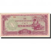 Banknote, Burma, 10 Rupees, 1942, KM:16a, UNC(60-62)