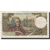France, 10 Francs, 10 F 1963-1973 Voltaire, 1971-06-03, VF(20-25)