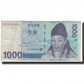 Banknote, South Korea, 1000 Won, 2007-01-22, KM:54a, VF(30-35)