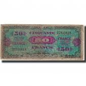 France, 50 Francs, 1944 Flag/France, 1944, B, Fayette:VF19.1, KM:117a