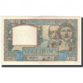 France, 20 Francs, 20 F 1939-1942 Science et Travail, 1941-09-18, UNC(63)