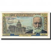 France, 500 Francs, 500 F 1954-1958 Victor Hugo, 1954-03-04, SUP