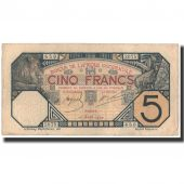 Banknote, French West Africa, 5 Francs, 1924-04-10, KM:5Bb, EF(40-45)