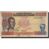 Banknote, Guinea, 1000 Francs, 1985, KM:32a, VG(8-10)