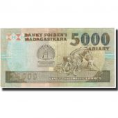 Banknote, Madagascar, 25,000 Francs = 5000 Ariary, 1988, KM:74a, EF(40-45)