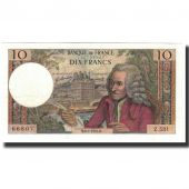 France, 10 Francs, 10 F 1963-1973 Voltaire, 1970-01-08, AU(55-58)